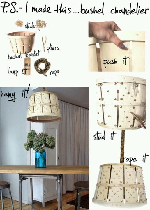 Barrel chandelier