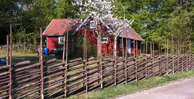 Bygga gärdsgårdar   Gärdsgårdsbindar´n