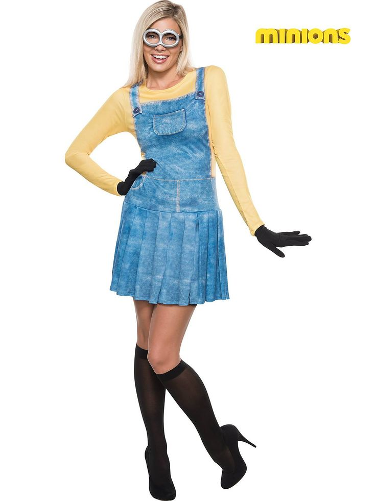 Women's Sexy Female Minion Costume | Discount TV & Movie Costumes for Adults