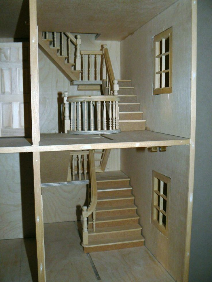 For Sale - Georgian Terraced House (undecorated) - The Dolls House Exchange