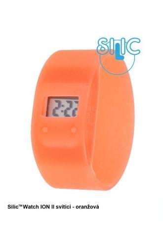 Silic Watch ION II svítící - oranžová