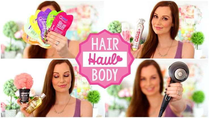 Haul | Freeman, LUSH, ghd, Sorbet, The Body Shop & More!