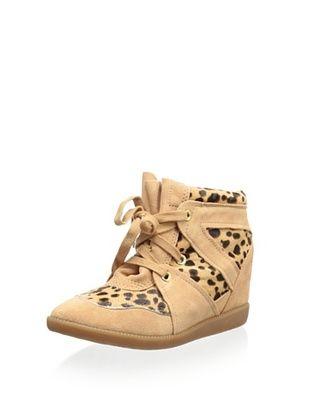 84% OFF Schutz Women's Saint Bridget Wedge Sneaker (Sunkiss/Natural)