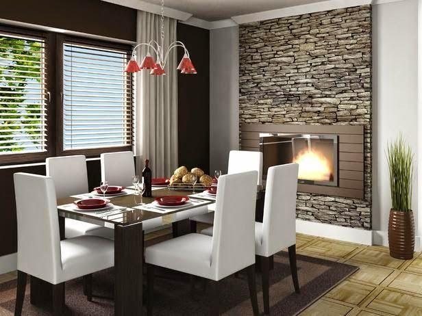 diseño decoracion sala comedor muebls de madera - Buscar con Google