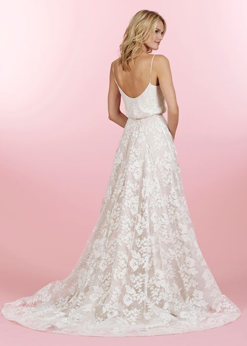 65 best images about hayley paige on pinterest chapel for Loose fitting wedding dresses