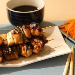 Rezeptbild: Japanische Hähnchenspieße (Yakitori)