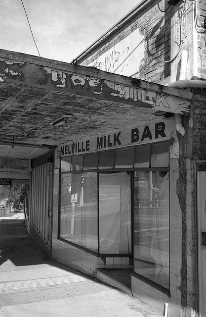 Abandoned Milk Bar Brunswick West