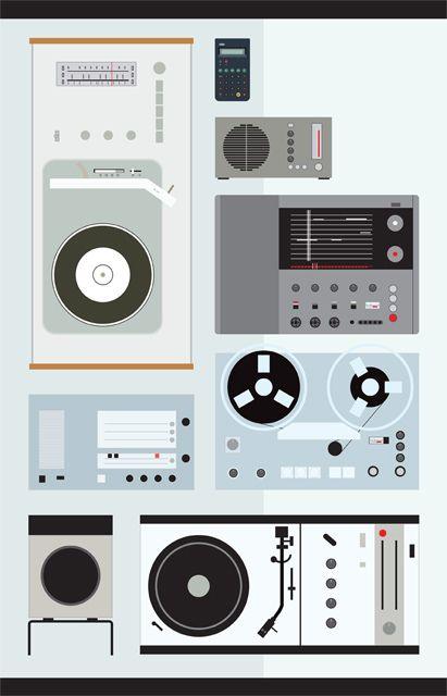 Dieter Rams: Graphic Design, Dieter Rams, Ant Studio, Illustration, Joel Pirela