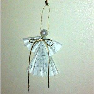 Folded Christmas Angel Craft