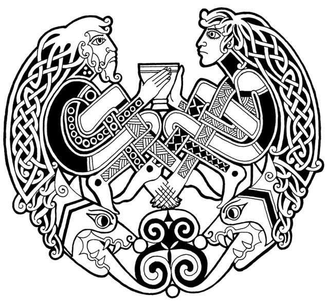 Celtic patterns and designs celtic picture drum heads for Independent tattoo lincoln ne