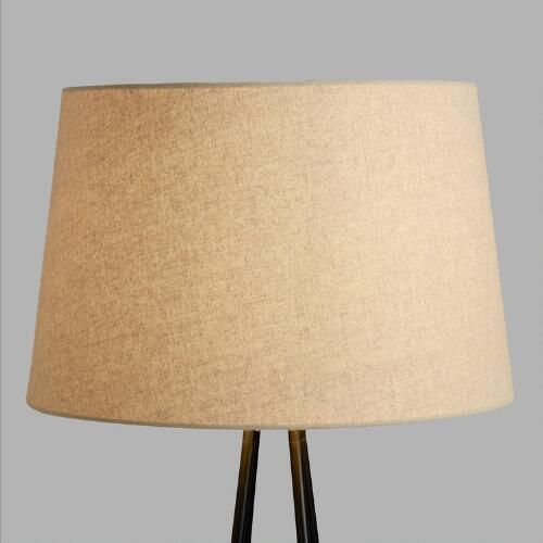 Floor lamp shades 25 pinterest linen floor lamp shade mozeypictures Image collections