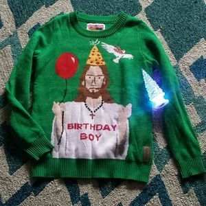 I just discovered this while shopping on Poshmark: Tipsy Elves Ugly Christmas Sweater. Check it out! Price: $25 Size: S, listed by foxysboutique