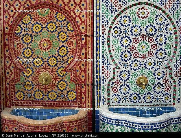 Morrocan fountainsGoogle Image, Moroccan Mosaics, Morrocan Fountain, Fuentes Mosaico, Mosaics Fountain, Image Results, Pictures Copyright, Pictures Moroccan, The Roller Coasters