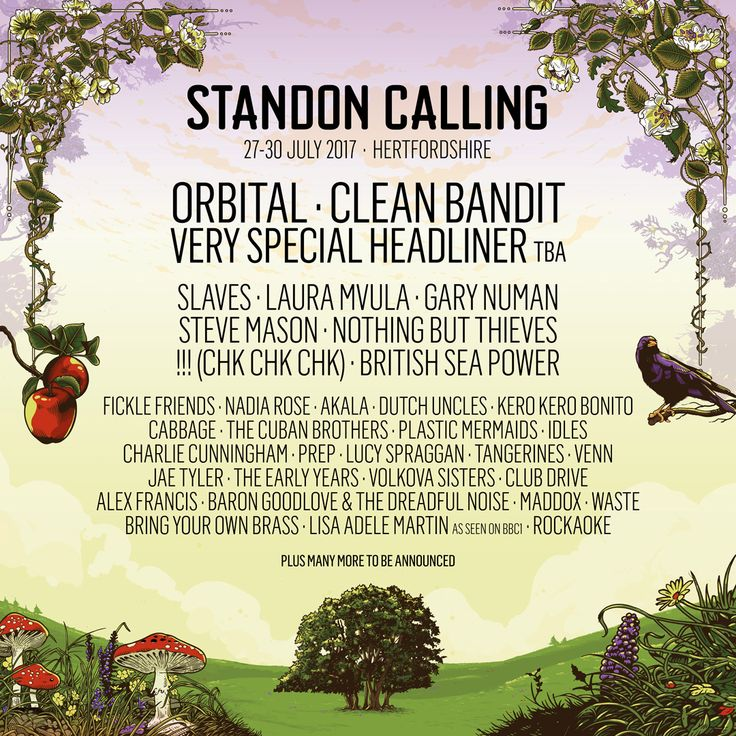 Orbital and Clean Bandit lead first wave of acts for Standon Calling 2017: Bringing together a unique weekend of irresistible fun,…