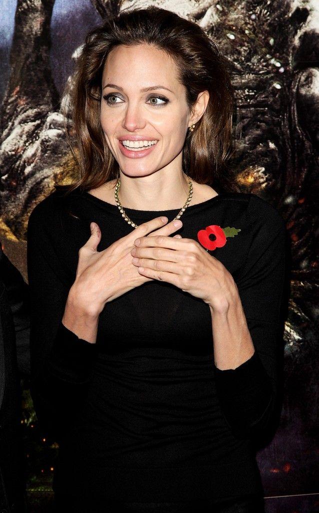 Angelina Jolie Photos Photos - Beowulf Premiere - Inside - Zimbio