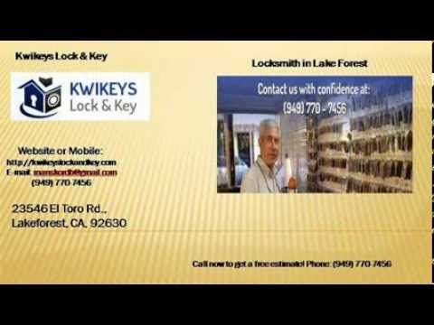 Locksmith in Rancho Santa Margarita
