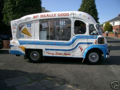 Mr. Really Ice Cream Van (via Mr. Whippy)