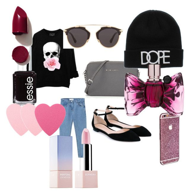 """""""street style"""" by bag-mag on Polyvore featuring moda, Gianvito Rossi, Christian Dior, Essie, Sephora Collection, Viktor & Rolf, NARS Cosmetics, women's clothing, women's fashion i women"""