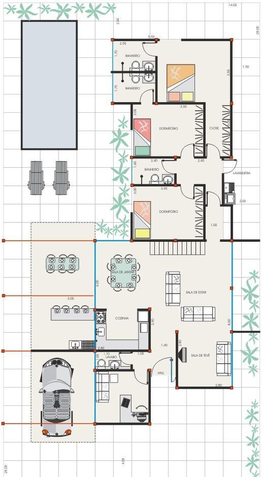 1157 best Plan petite maison images on Pinterest Arbors - plans de maison gratuit plain pied