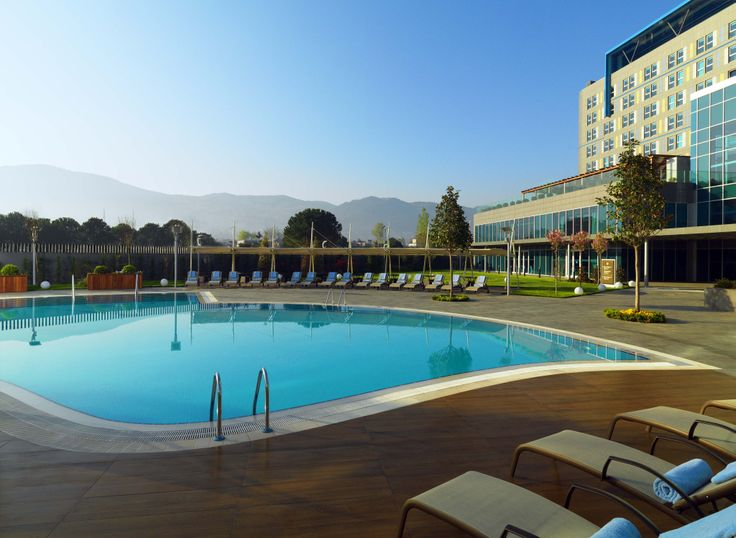 Sheraton Bursa Hotel / Shine Spa Bursa Outdoor Pool 1