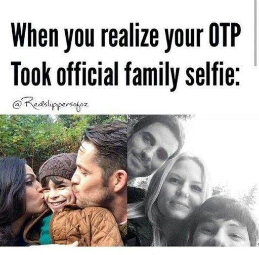 Yes...family selfie.