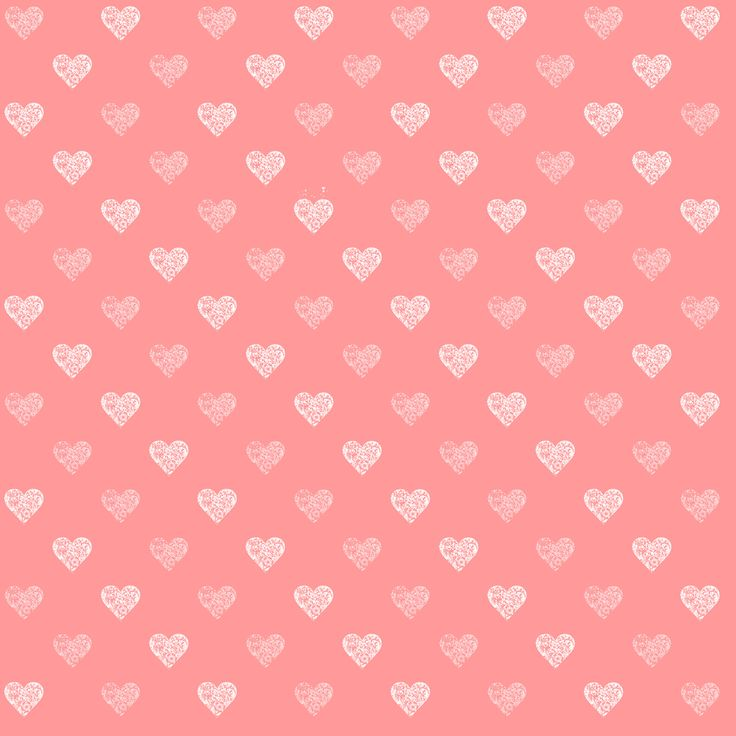 mini pink hearts background