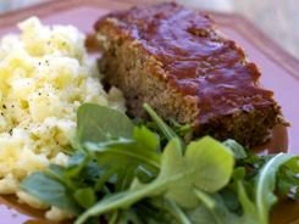 Recipe Details | Rocco DiSpirito's Meatloaf with KAMUT® Brand Khorasan Wheat Puffs | Kamut Brand® Khorasan Wheat