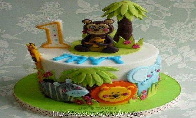 Jungle Birthday Cake Pictures