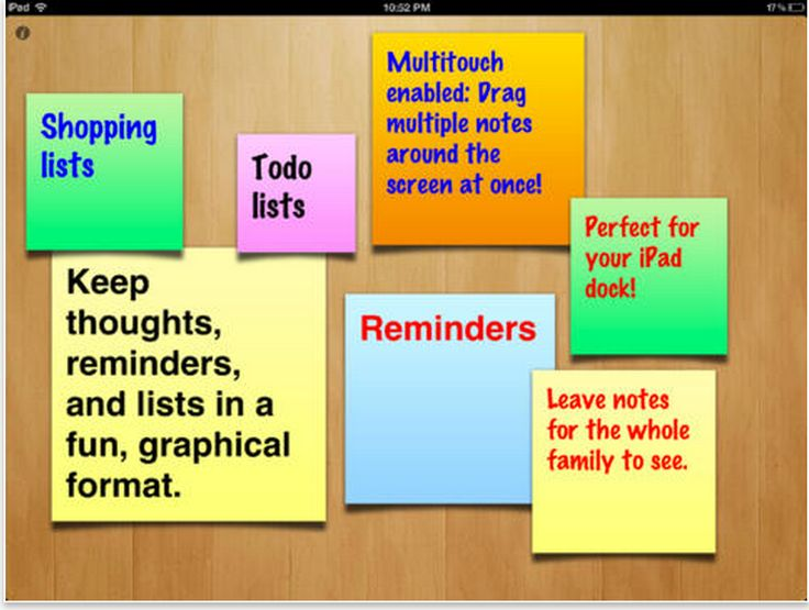 3 Good iPad Sticky Notes Apps for Teachers and Students ~ Educational Technology and Mobile Learning