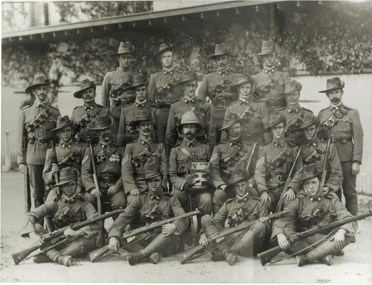 Australian 10th Battalion, the Adelaide Rifles.  Formed in 1914.
