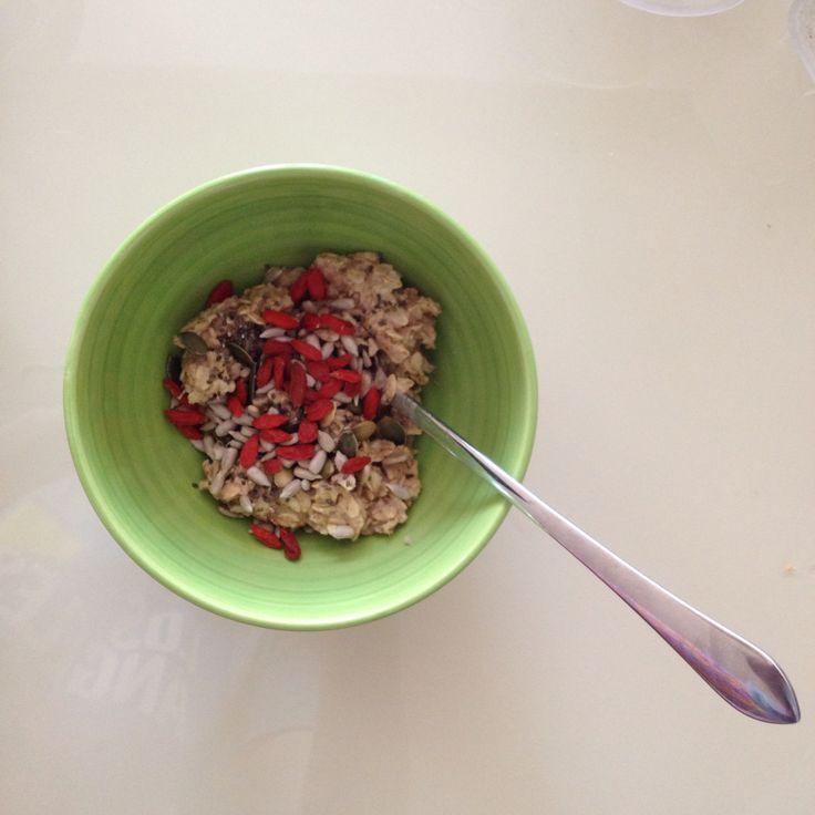 Breakfast - oatmeal