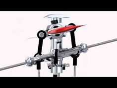 Helicopter Rotor Animation Hiller Bell mechanism YouTube