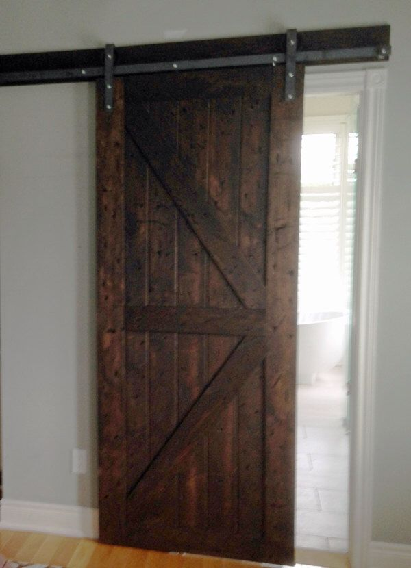 barn door decorative sliding door by foo foo la la