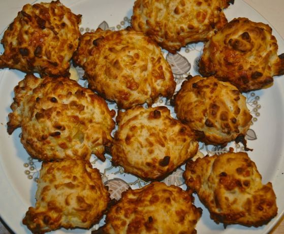 Easy cheese scones - in a hurry.