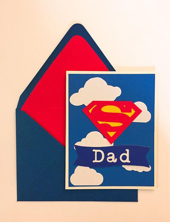 Carte de fête des pères / / Super papa / / Super Papá / /