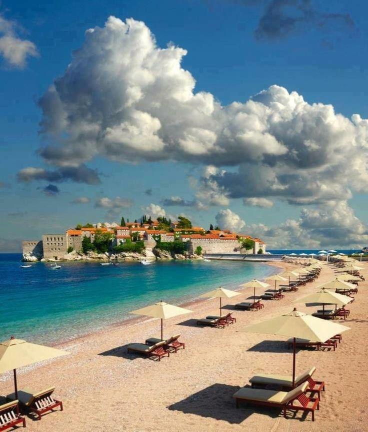 Sveti Stefan Island City Montenegro