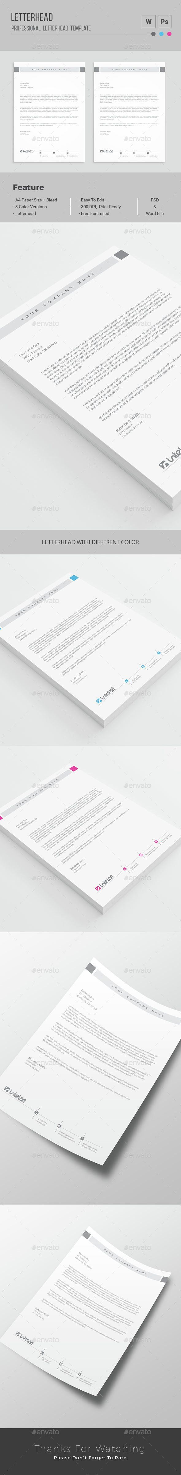 The 25 best letterhead template ideas on pinterest letterhead letterhead spiritdancerdesigns Choice Image