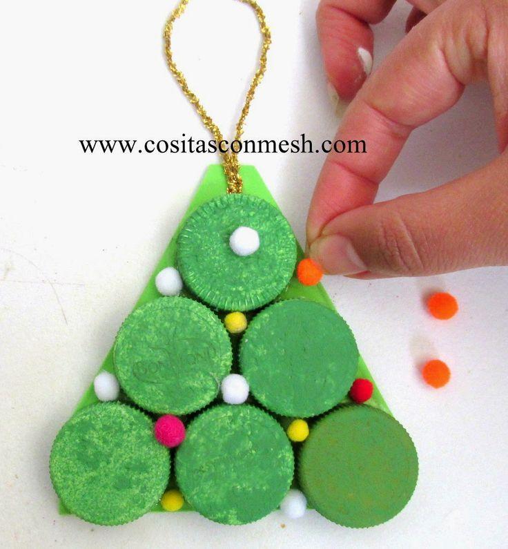Arbolitos navideños para hacer con niños