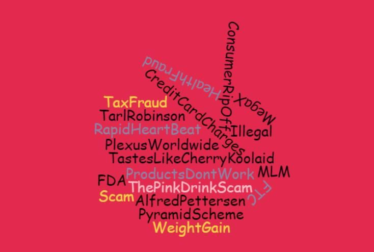 pink drink, plexus slim, plexus slim review, plexus scam, fda warning, lose weight, tarl robinson, carrie sterma, the pink drink scam