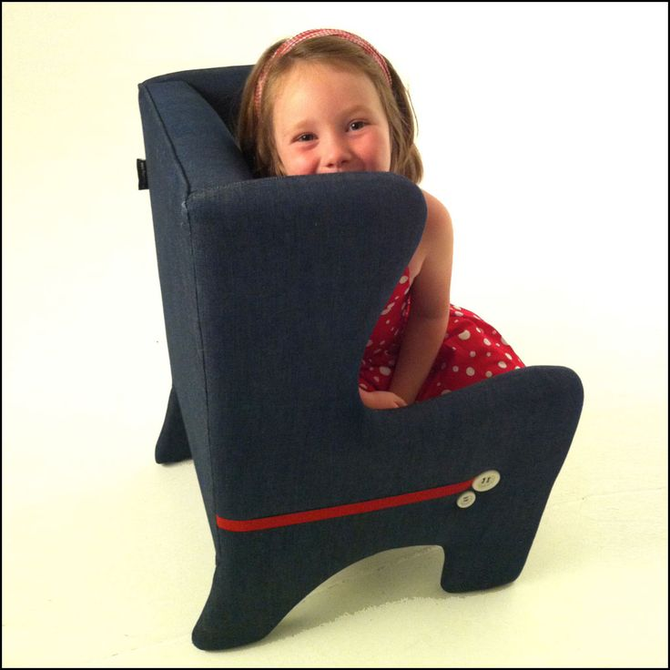 Children's Wing Chair : Playful modern living. Handmade. Available from www.flaunt.com.au
