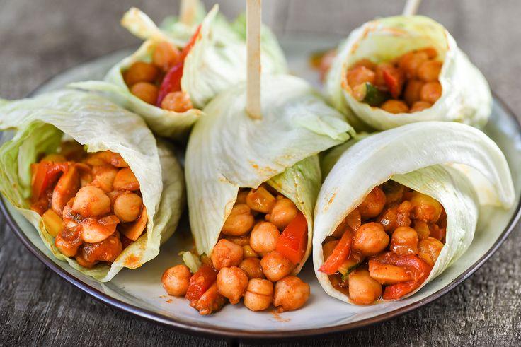 Spicy wraps #spicywraps #kikkererwten #wraps #recept