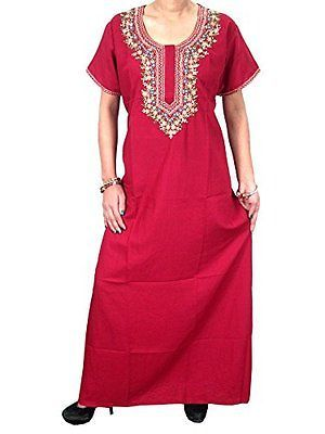 BOHO-MOROCCAN-KAFTAN-FLORAL-NECK-EMBROIDERED-RED-COTTON-HIPPY-CAFTAN-DRESS-XXL  http://stores.ebay.com/mogulgallery/CAFTANS-/_i.html?_fsub=665713919&_sid=3781319&_trksid=p4634.c0.m322