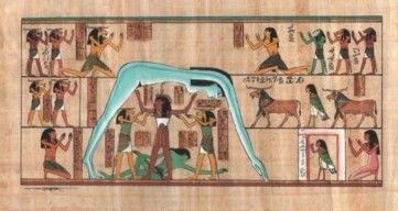 Nuit - die ägyptische Göttin des Himmels, von Tefnut gehalten