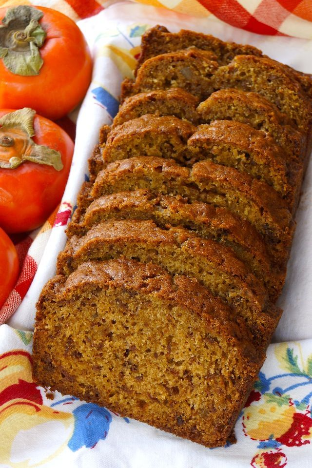 Persimmon Gingerbread | Recipe | Cooking, The o'jays and Spices