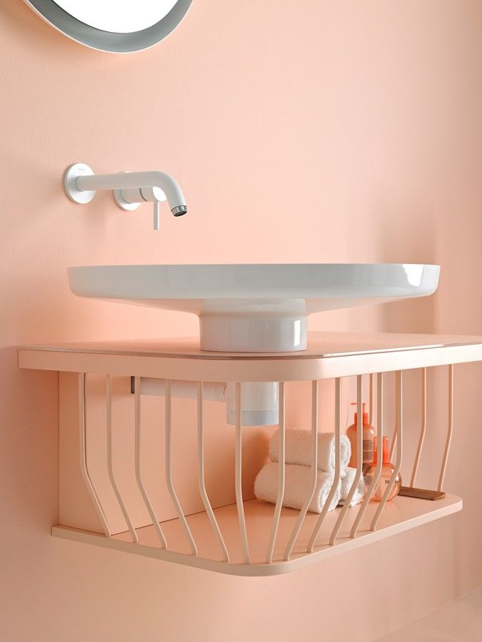 Bowl collection in #pastel #colors. #washbasin #bathroom #design