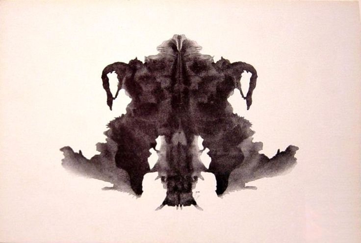 The Rorschach inkblot test was created by Hermann Rorschach in 1921. In the 1960s, the Rorschach was the most widely used projective test used by psychologists.