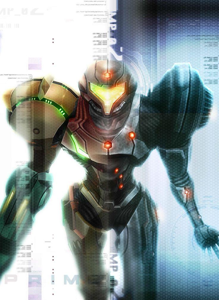 Samus Aran, de Metroid.
