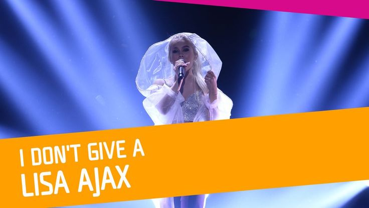 "Se Lisa Ajax sjunga ""I Don't Give A"" i Melodifestivalen 2017."