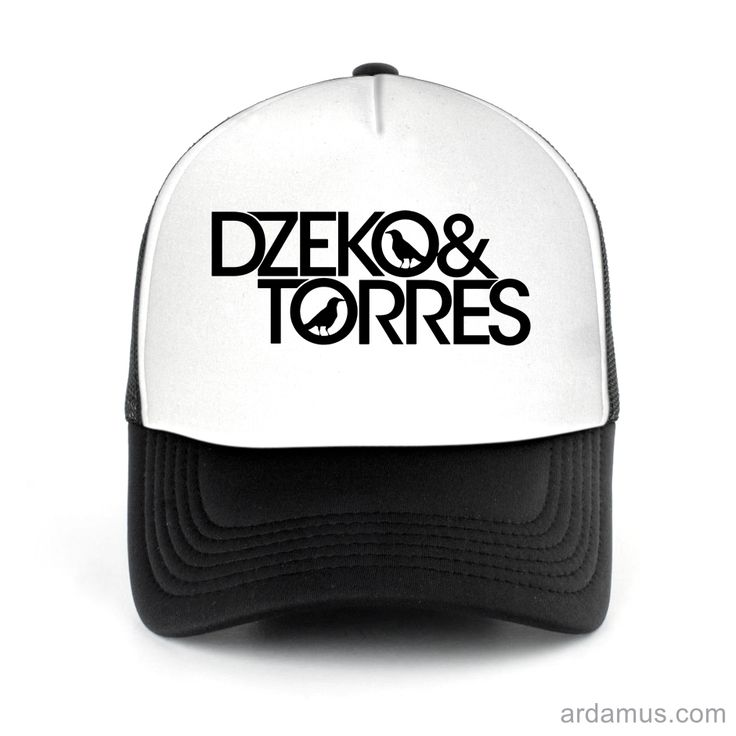 Dzeko And Torres Trucker Hat for men or women. Available color black, red, pink, green. Shop more at ARDAMUS.COM #djtruckerhat #djcap #djsnapback #djhat