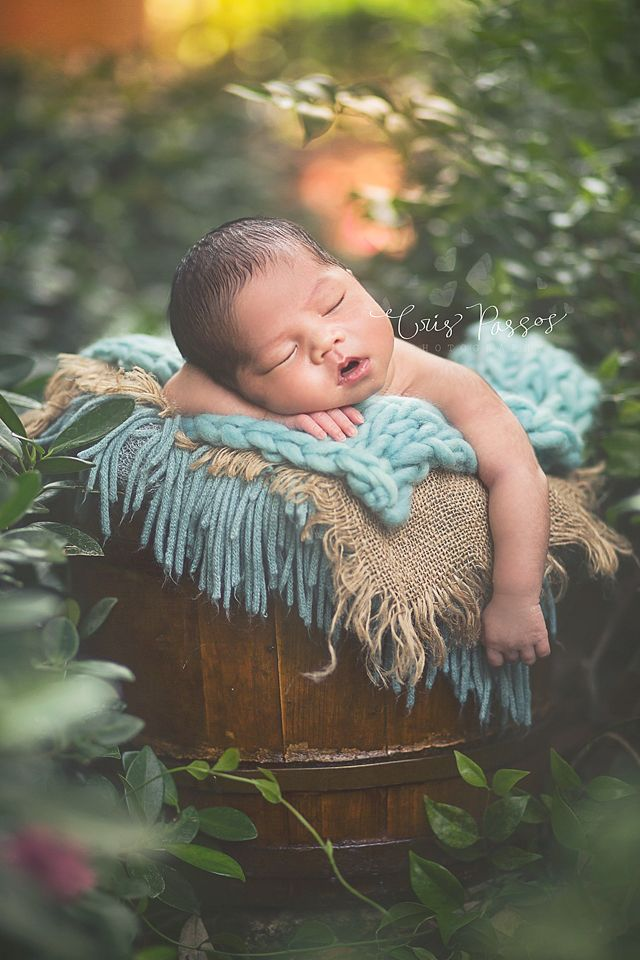 South Florida Newborn Portrait Photographer Boca Raton Outdoor Newborn Photography
